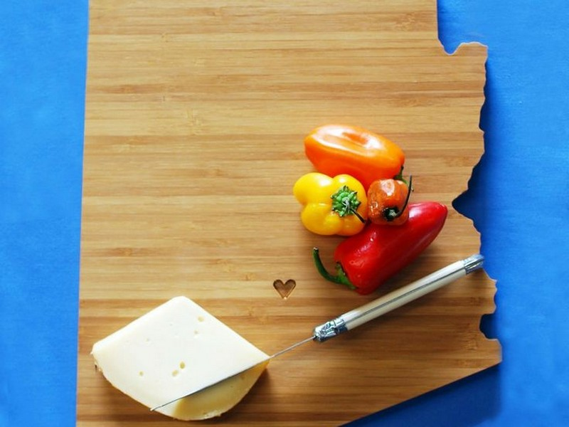 State Cutting Boards Etsy