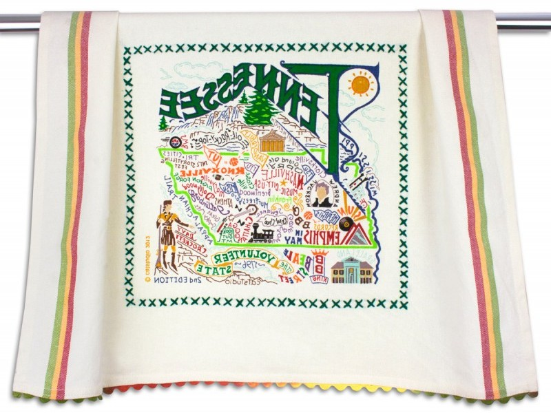 State Dish Towels Catstudio