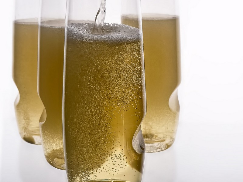 Stemless Champagne Glasses