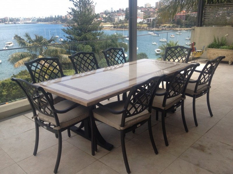 Stone Patio Tables