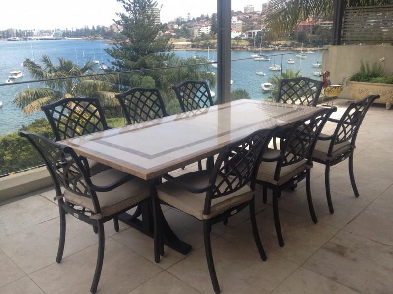 Stone Patio Tables
