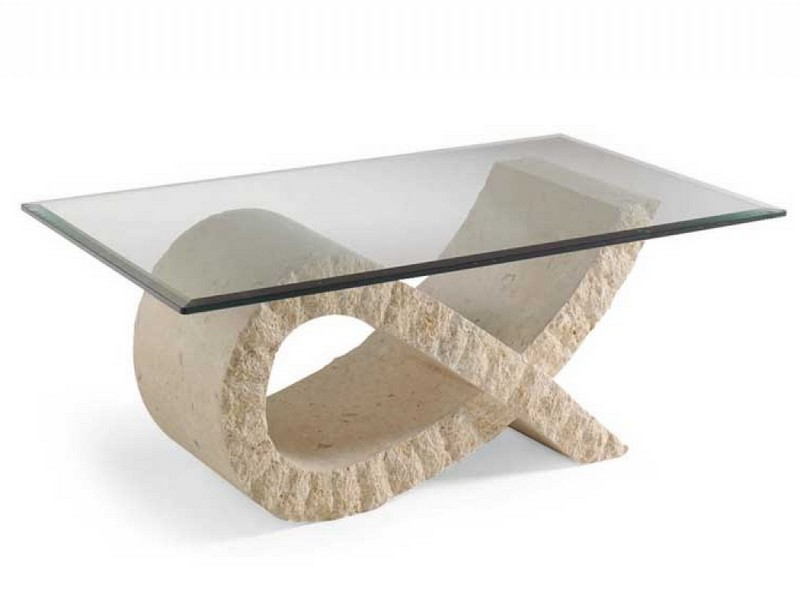 Stone Table Bases Glass Tables