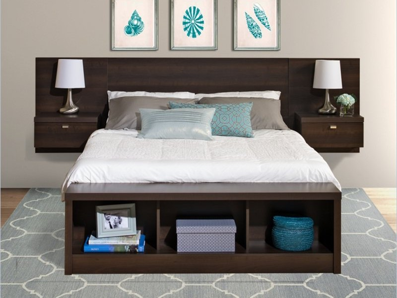 Storage Headboard King Size