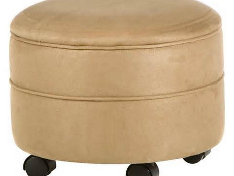 Storage Ottoman Round