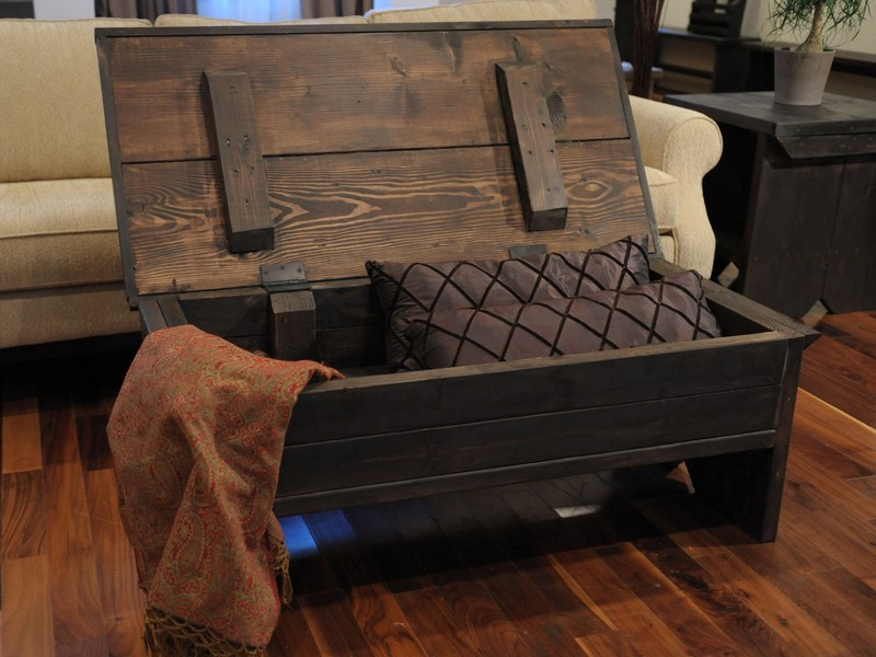 Storage Trunk As Coffee Table
