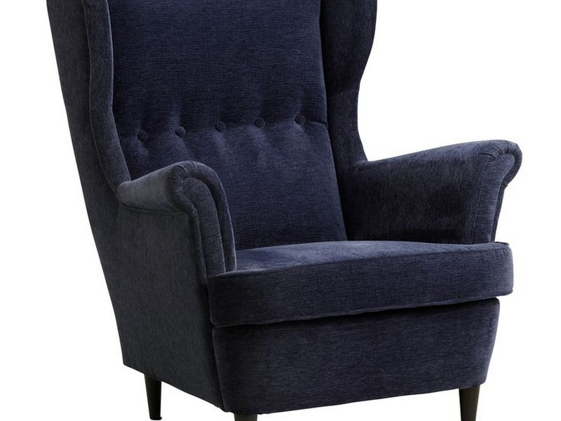 Strandmon Wing Chair Blue