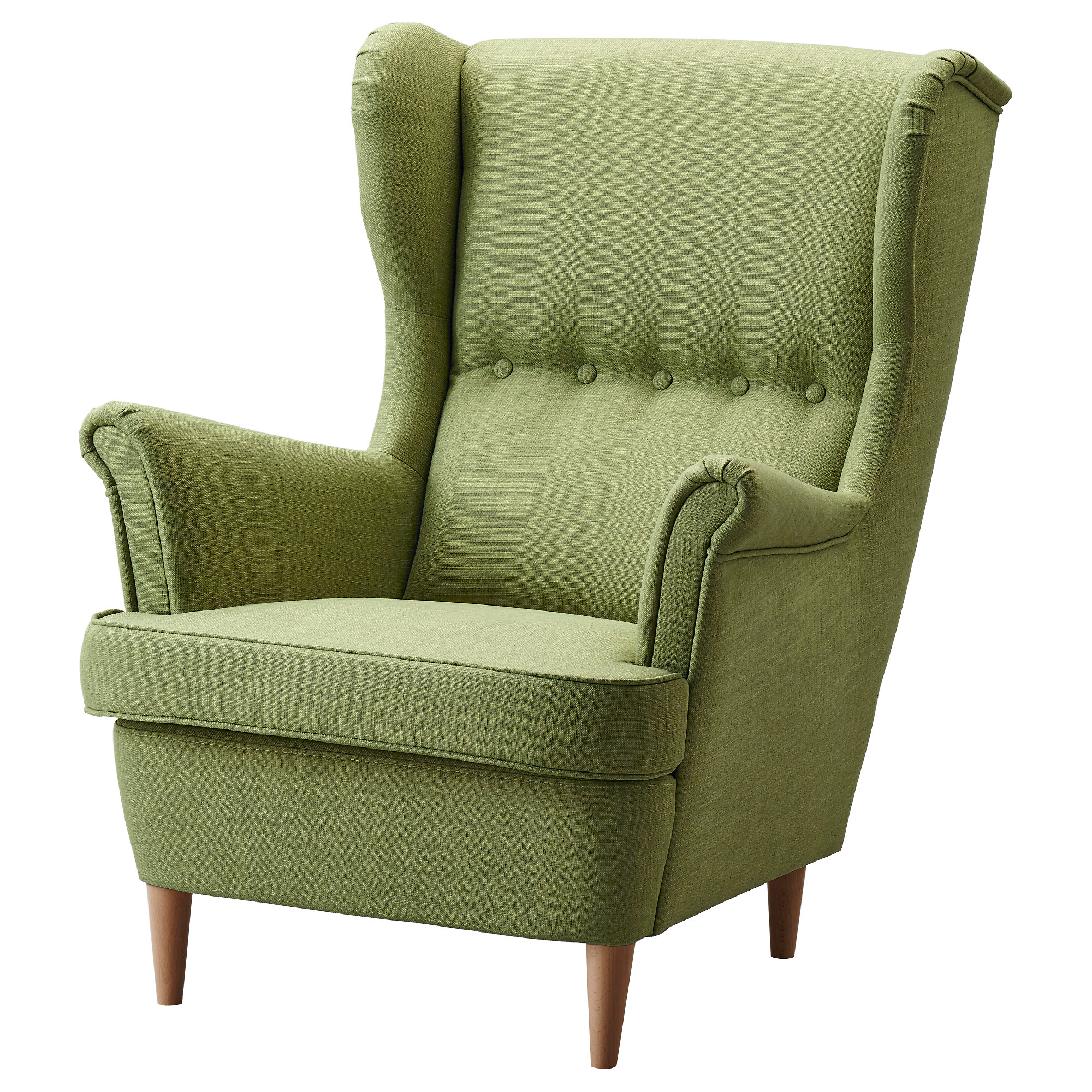 Strandmon Wing Chair Green