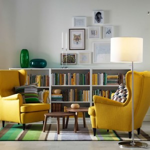 Strandmon Wing Chair Yellow