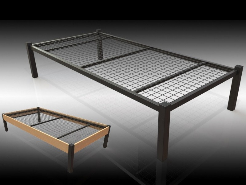 Sturdy Bed Frame For Obese