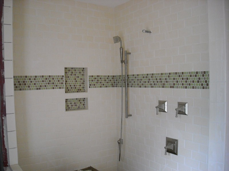 Subway Tile In Bathroom Shower