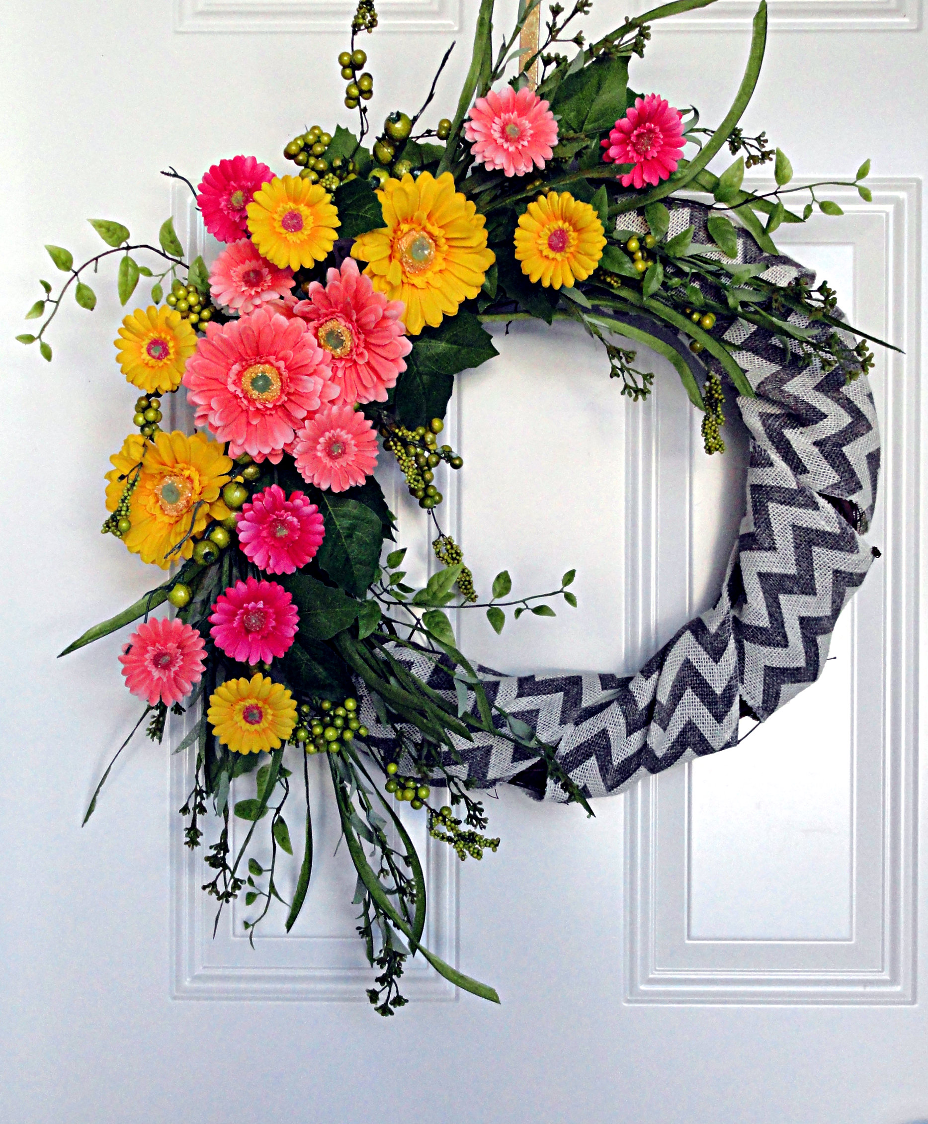 Summer Wreaths For Front Doors