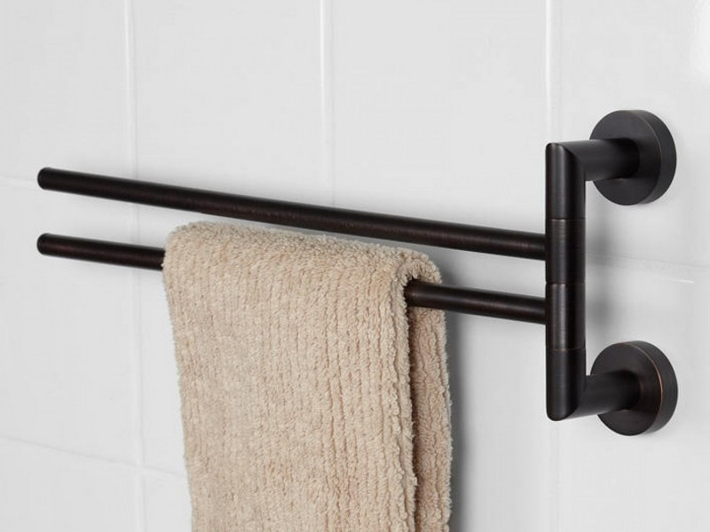 Swing Arm Towel Rack Bathroom