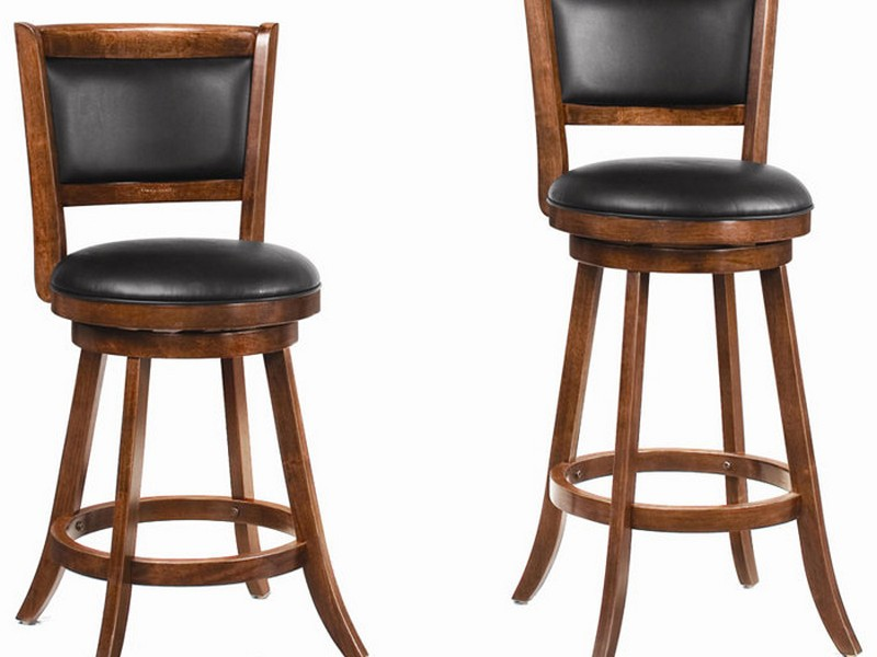 Swivel Bar Chairs With Backs