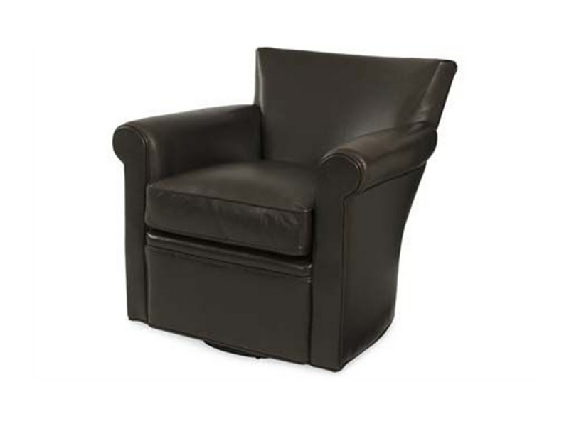 Swivel Leather Chairs Living Room