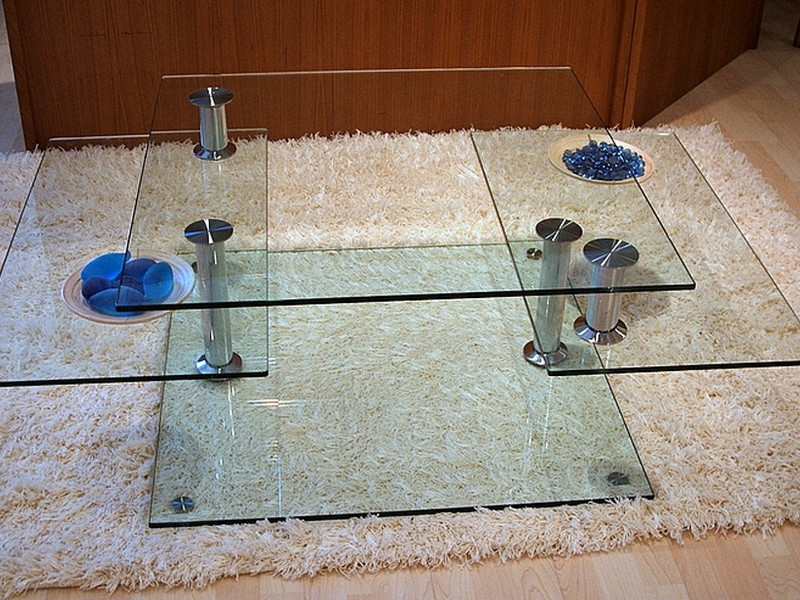 Swivel Top Coffee Table