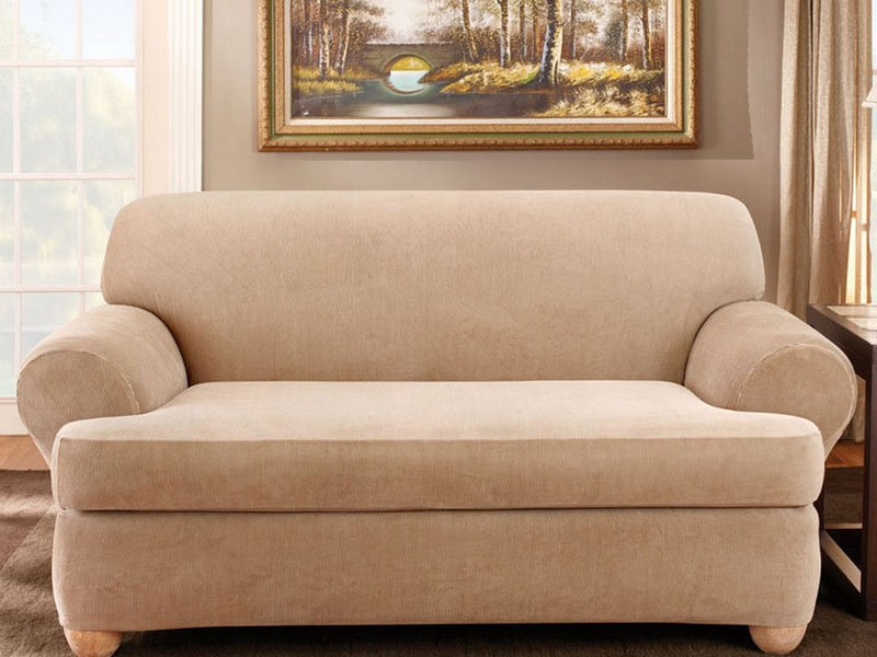 T Cushion Sofa Slipcovers 2 Piece