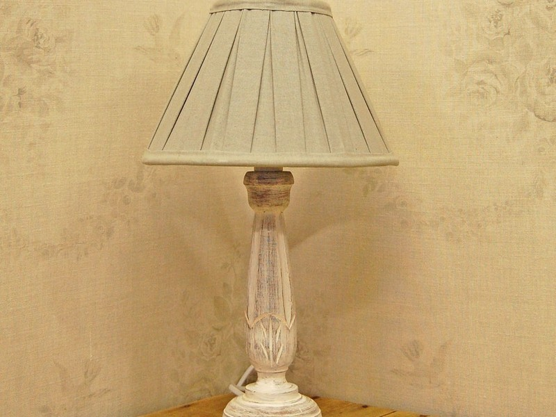 Table Lamps Shabby Chic Style