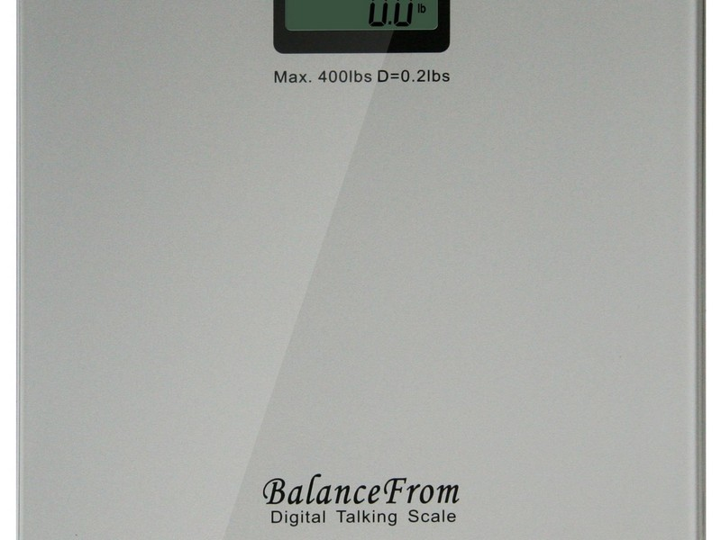 Talking Bathroom Scales For The Blind