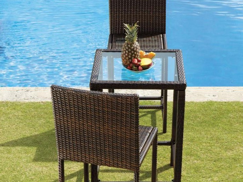Tall Bistro Table And Chairs Outdoor