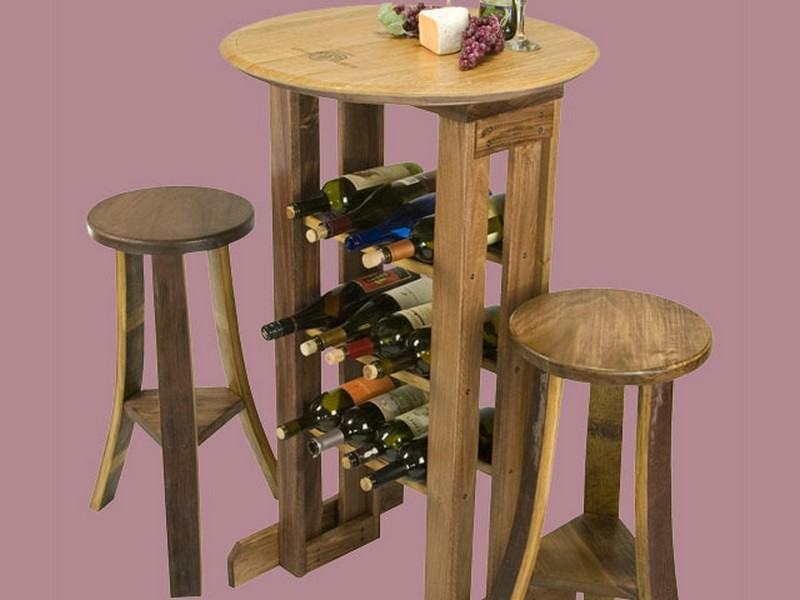 Tall Bistro Table And Stools