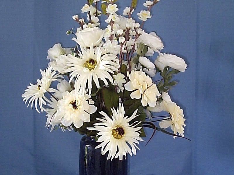Tall Faux Floral Arrangements