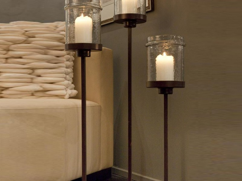 Tall Floor Candle Stands