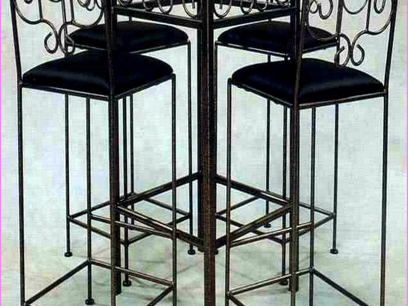 Tall French Bistro Table