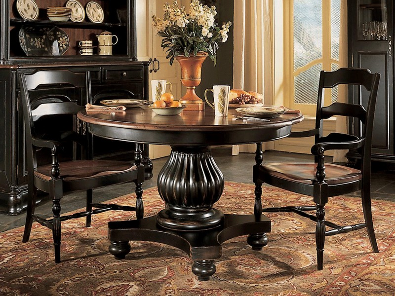 Tall Pedestal Table Round