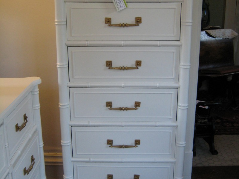 Tall Skinny White Dresser