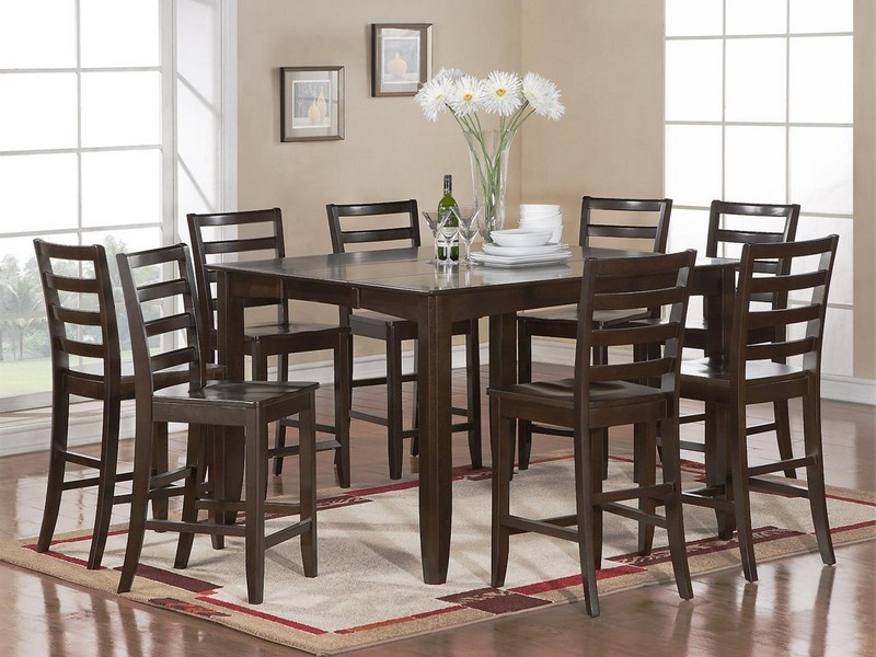 Tall Square Dining Room Tables