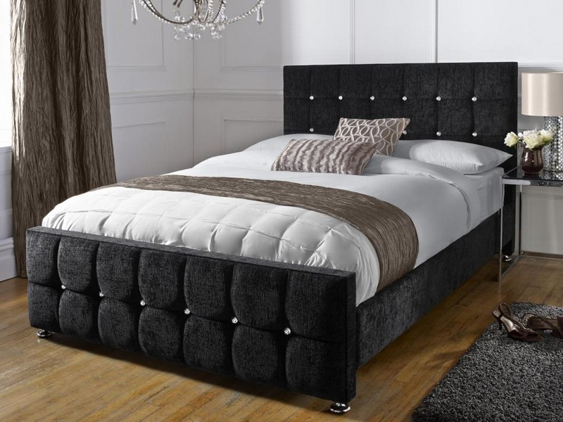 Tall Upholstered Bed Frame