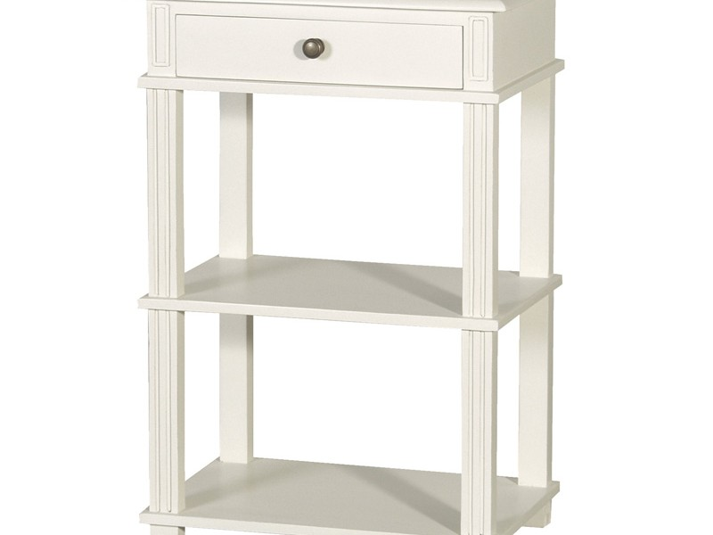 Tall White Bedside Tables
