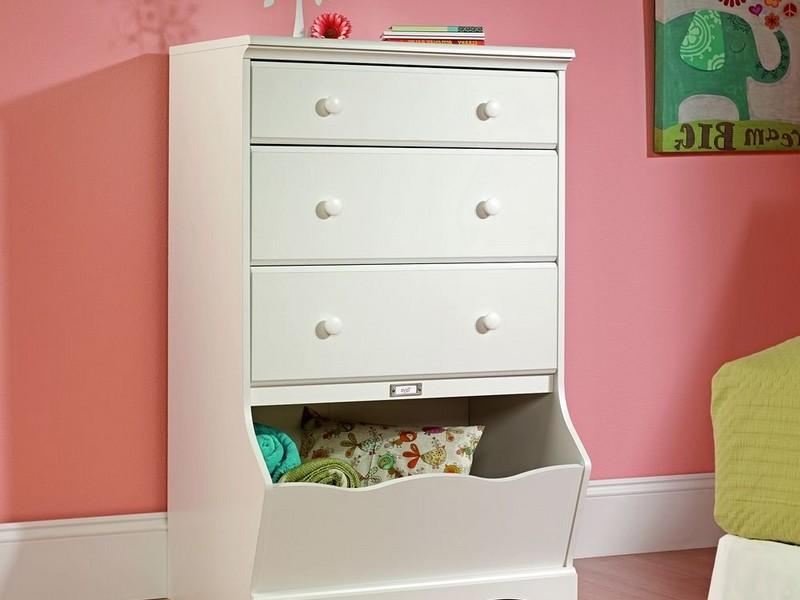 Tall White Dresser Modern