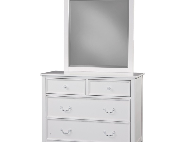 Tall White Dresser With Mirror