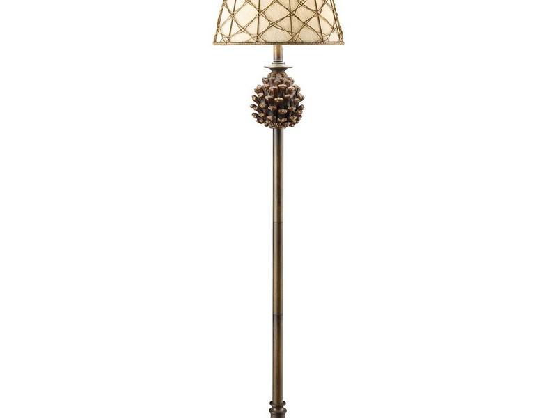 Tall Wicker Floor Lamps