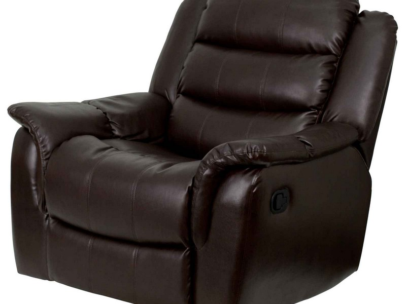 Target Leather Chair And Ottoman