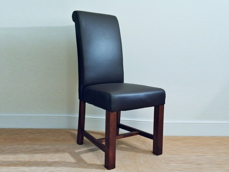 Target Leather Chair Brown