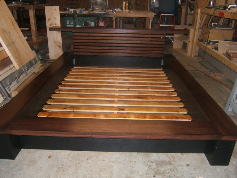 Tatami Platform Bed Frame Plans