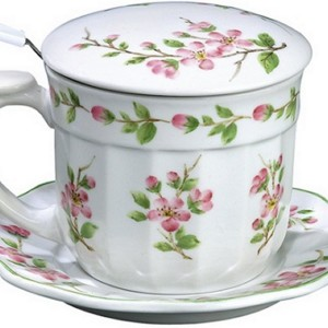 Tea Cups With Lids And Strainers