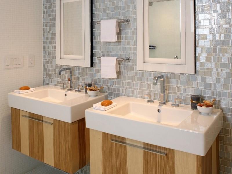 Teak Bathroom Vanity Units