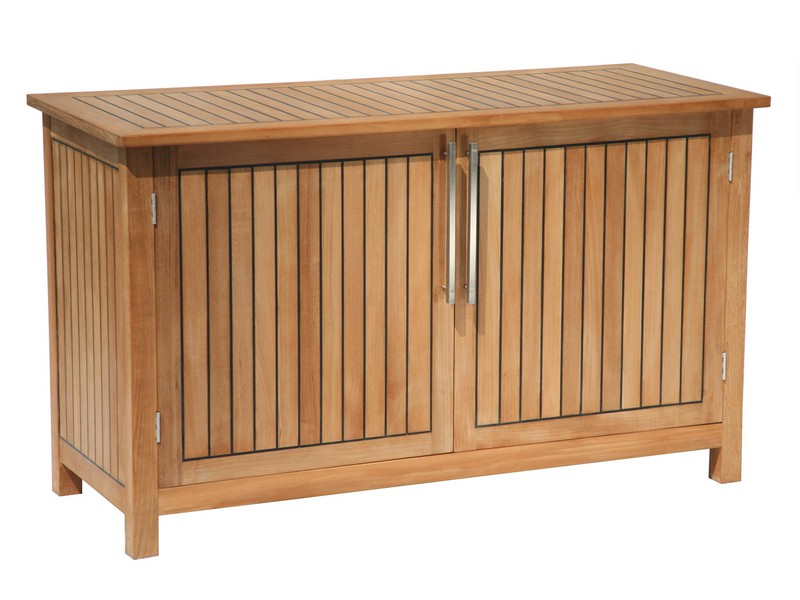 Teak Storage Bench Outdoor