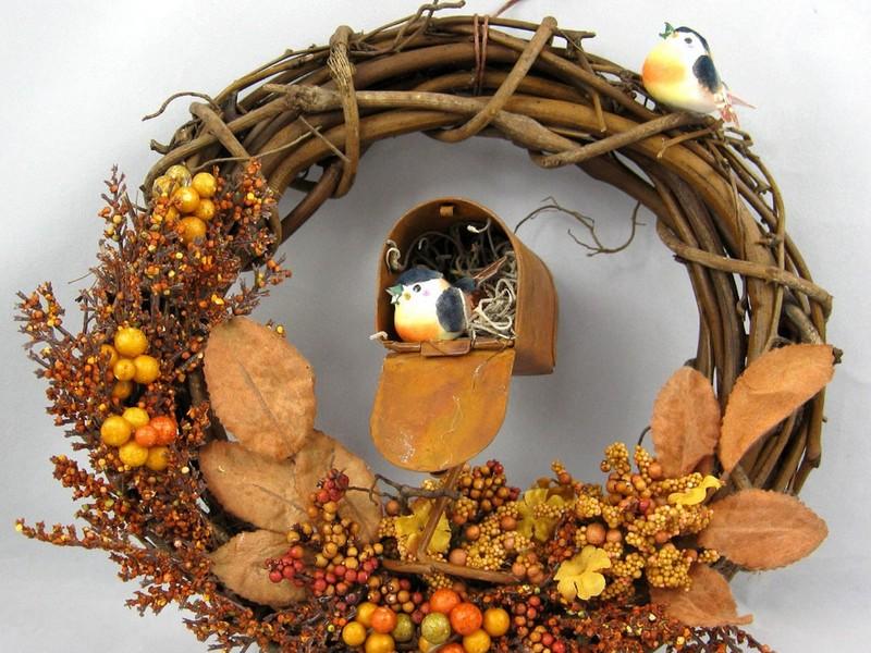 Thanksgiving Door Wreath Ideas