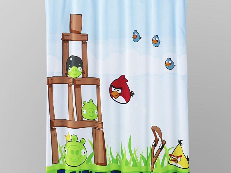 Thanksgiving Shower Curtain Set