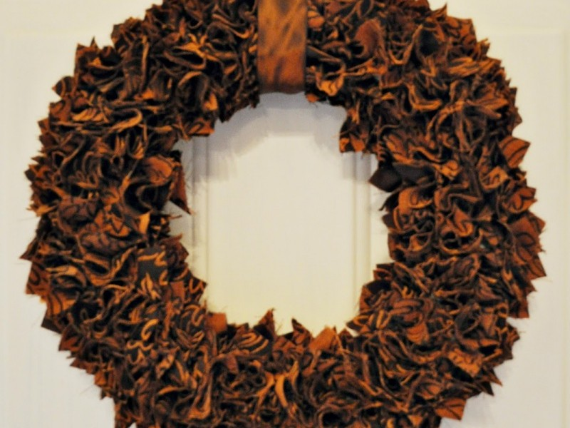 Thanksgiving Wreath Craft Ideas