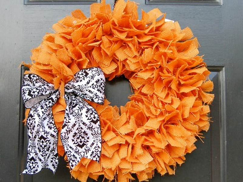 Thanksgiving Wreath Ideas Pinterest