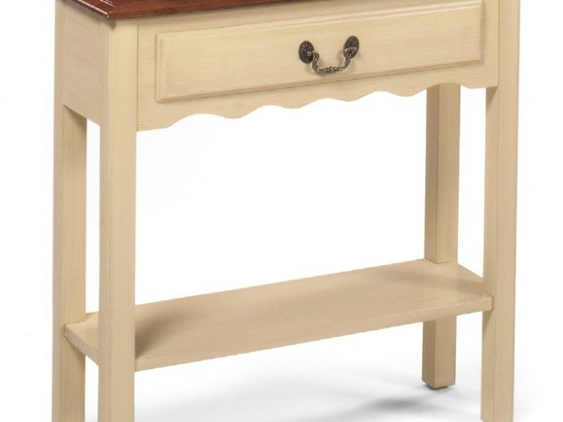 Thin Console Table With Drawers