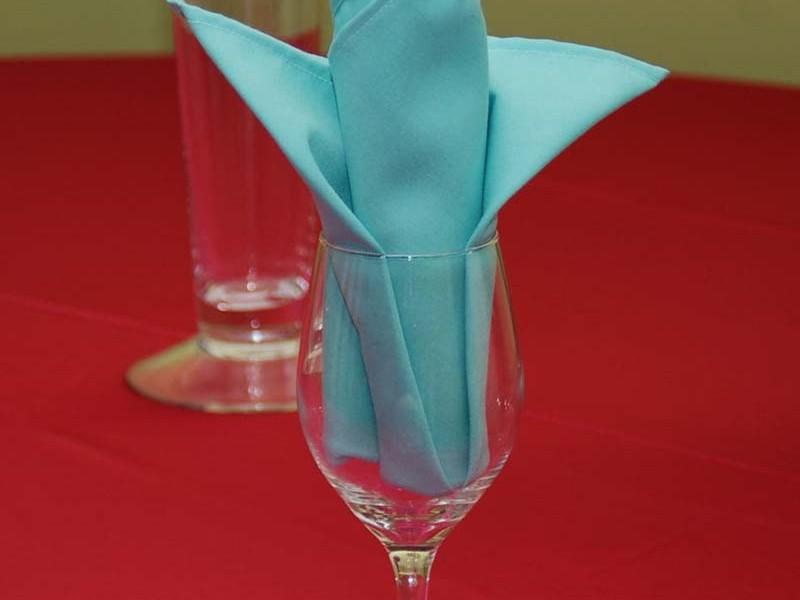 Tiffany Blue Napkins
