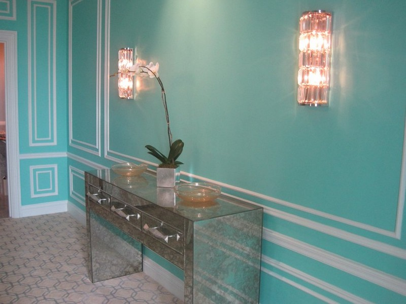 Tiffany Blue Paint Bathroom