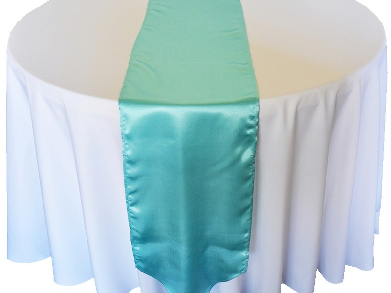 Tiffany Blue Table Runners Wedding