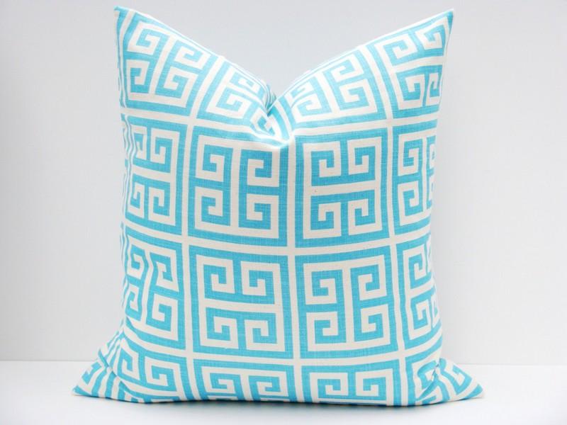 Tiffany Blue Throw Pillows